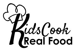 Kids Cook Real Food Logo