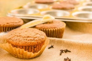 Healthy Gluten-free Pumpkin Muffins for the Kids Cook Real Food eCourse