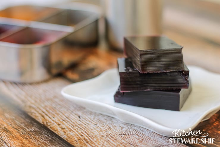 Homemade Gelatin Squares - great for kids, parties, school lunches and your health (11) Watermark