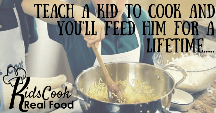 Teach a Kid to Cook with the Kids Cook Real Food eCourse