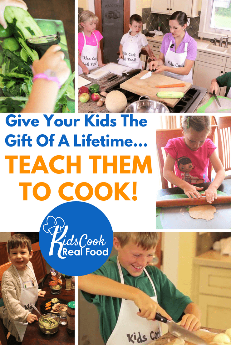 non-toy gift ideas for kids: cooking classes