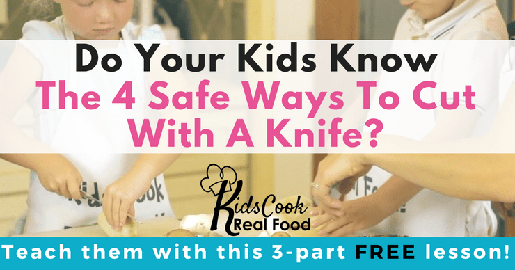 Kids can learn to cook easy recipes!