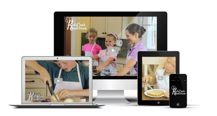 online cooking class for kids
