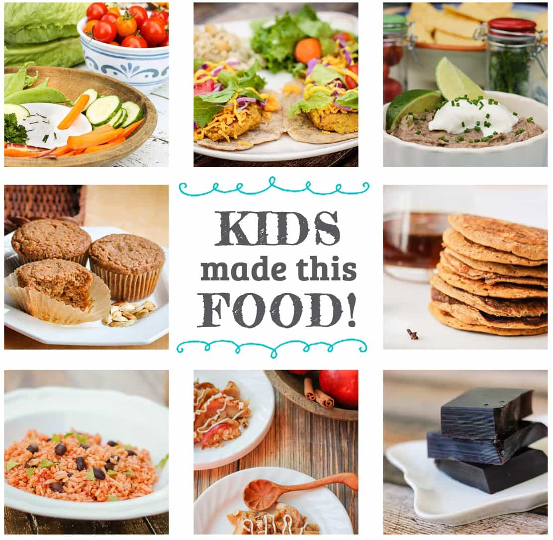 food in the Kids Cook Real Food eCourse
