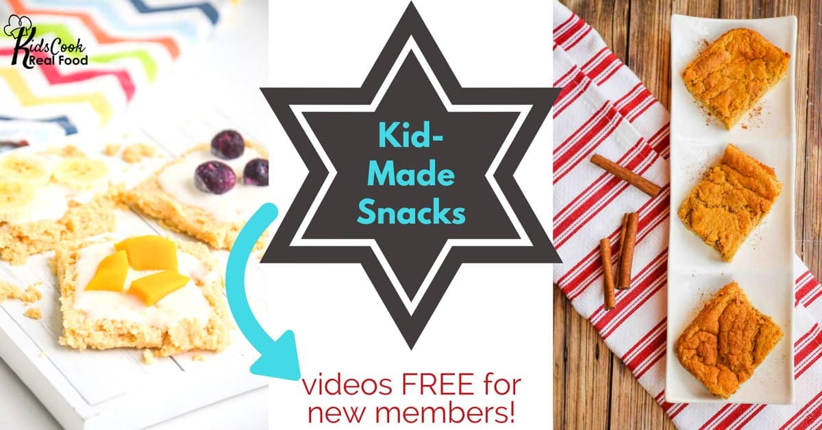 free snacks with clutter-free gift giving!
