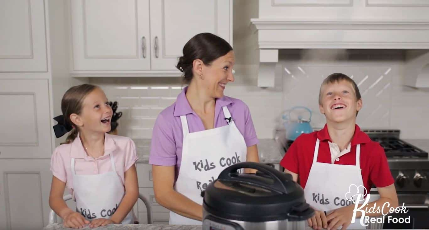 Instant Pot Video Cooking Lessons for Kids