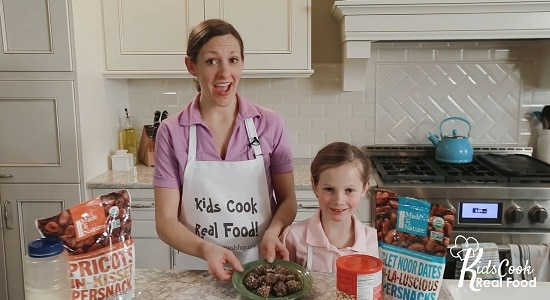 encourage kids to learn to cook their own snacks!