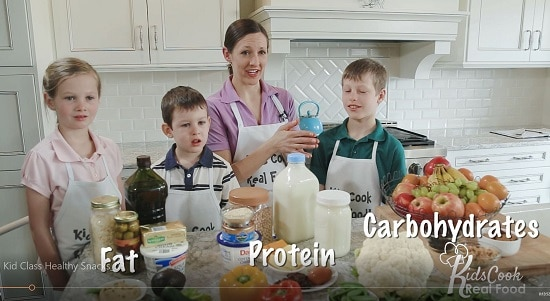 the macronutrients in kid-friendly style