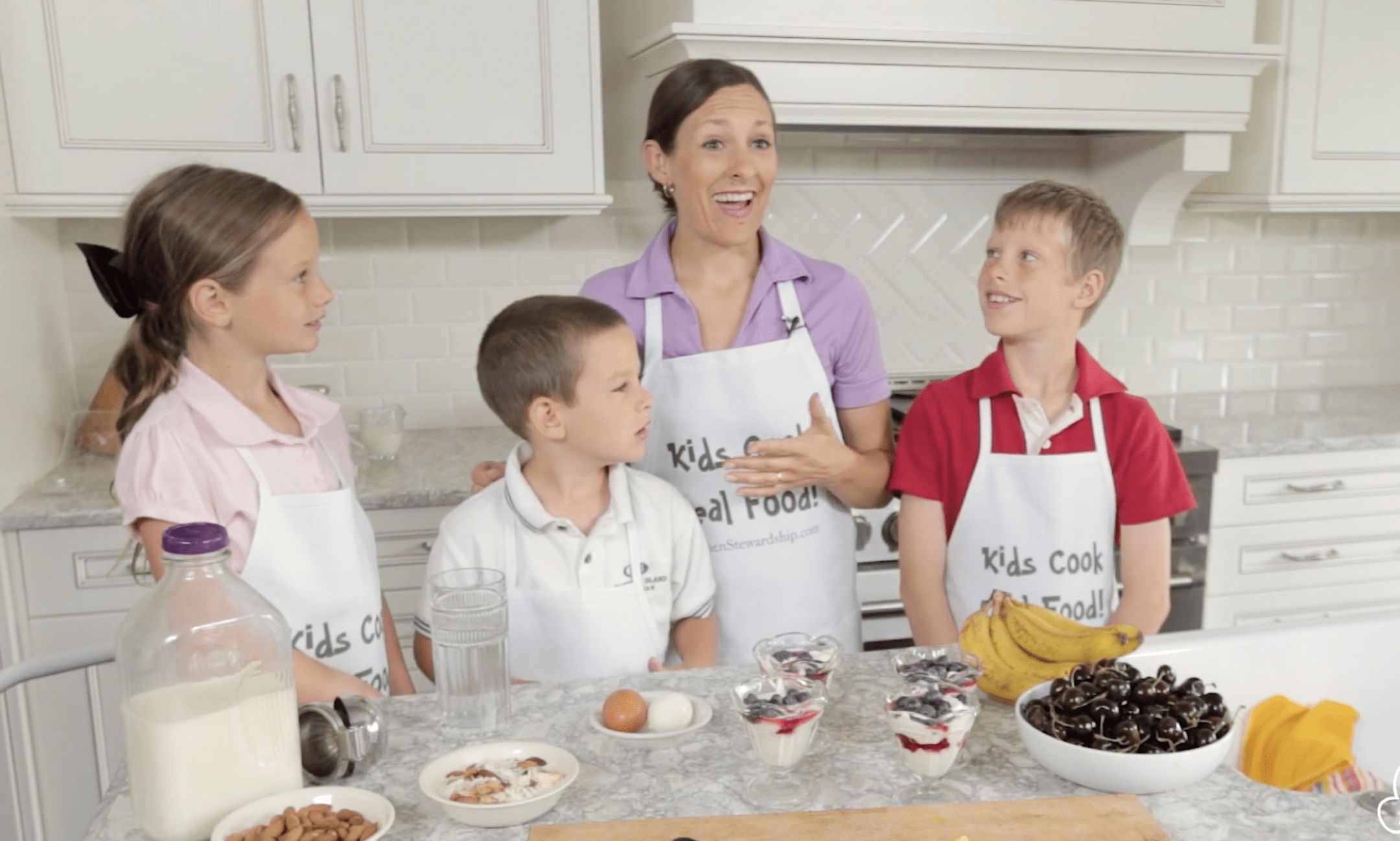 Healthy Breakfasts Kids Can Make Kids Cook Real Food Thematic SkillLab
