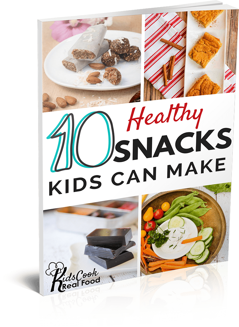10 Healthy Snacks Kids Can Make ebook