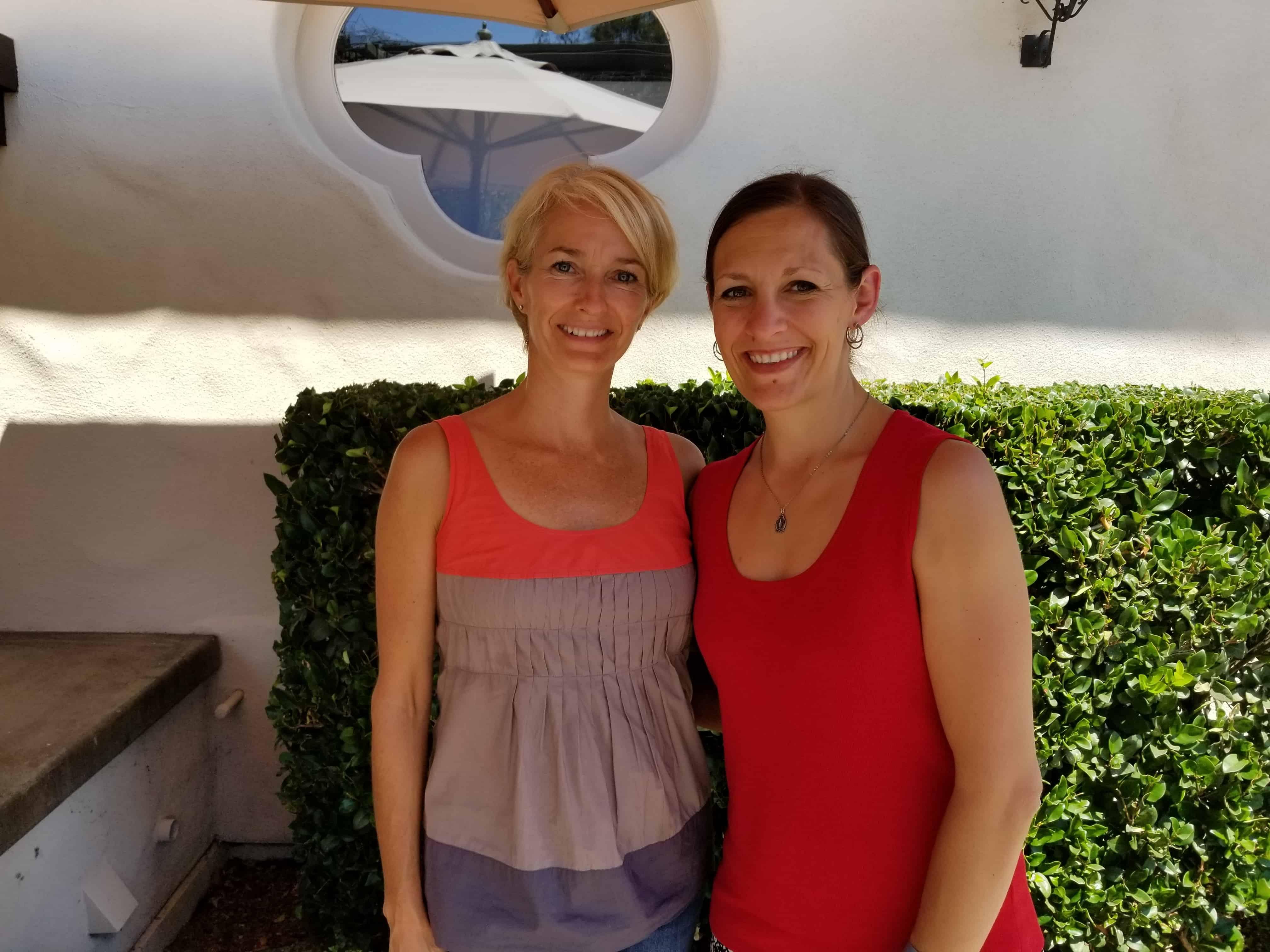 Dr. Sheila Kilbane and Katie Kimball