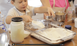 Preschool Kitchen Skills Lessons