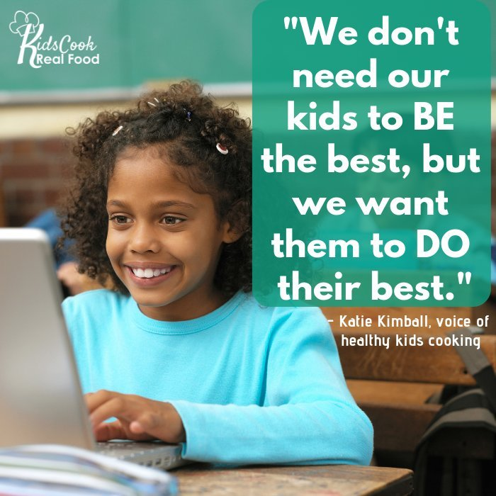 Quote about kids doing their best