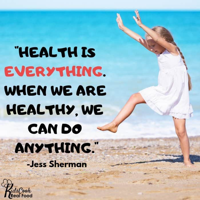 Quote about health and potential