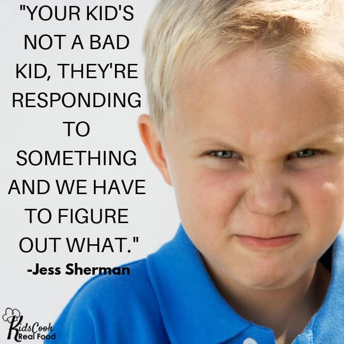 Quote about kid's behavior