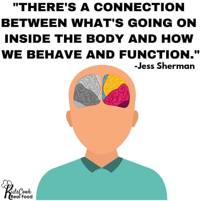 Quote about the connection between your brain and body