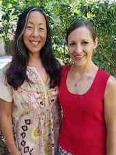 Dr. Elisa Song and Katie Kimball