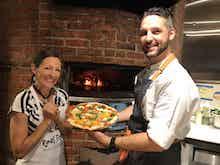 Executive Chef Clark Frain and Katie Kimball