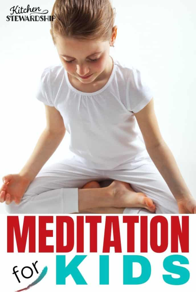 girl meditating - Meditation for Kids