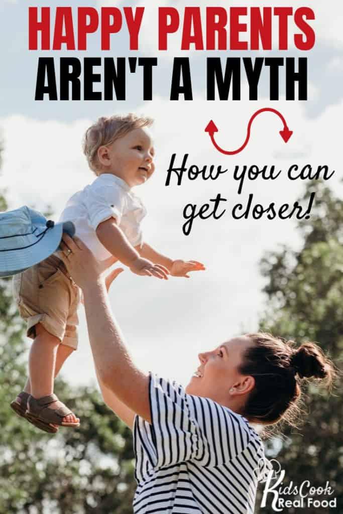 Happy parents aren't a myth