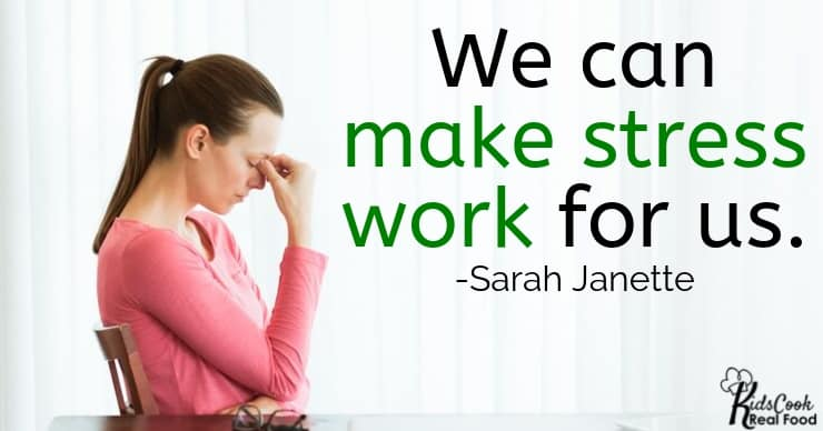 We absolutely have a way of managing our relationship to stress and making it work for us and not against us. -Sarah Janette