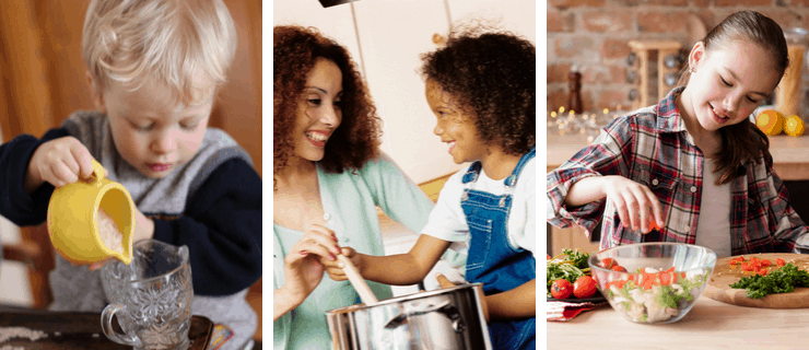 cooking skills for preschool to teenager and everything in between