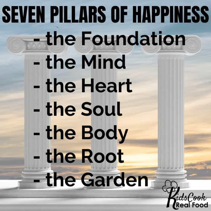 Seven pillars of happiness