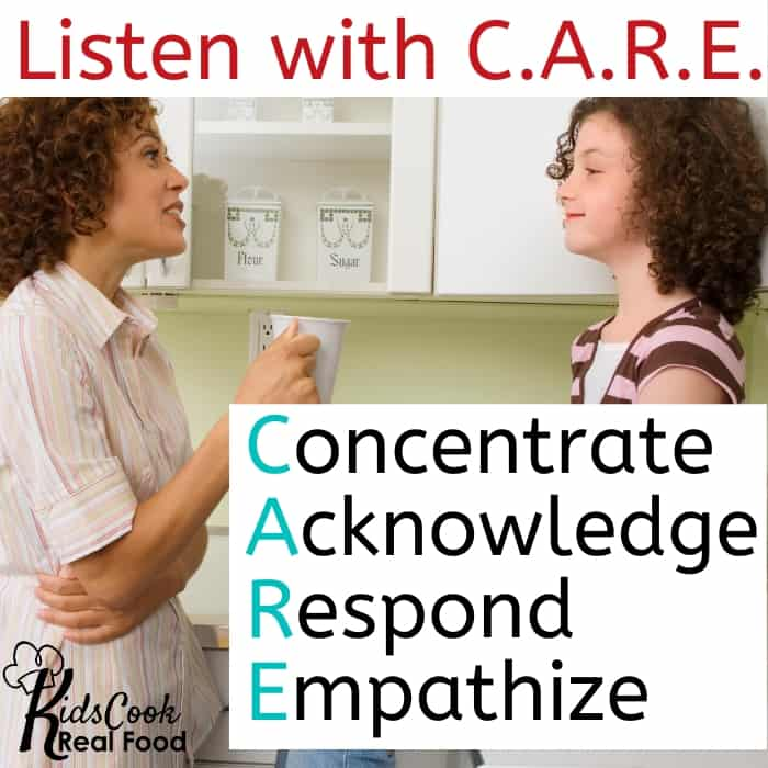 Listen with C.A.R.E.