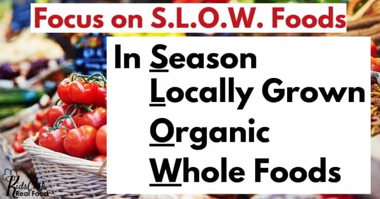 Focus on S.L.O.W. foods