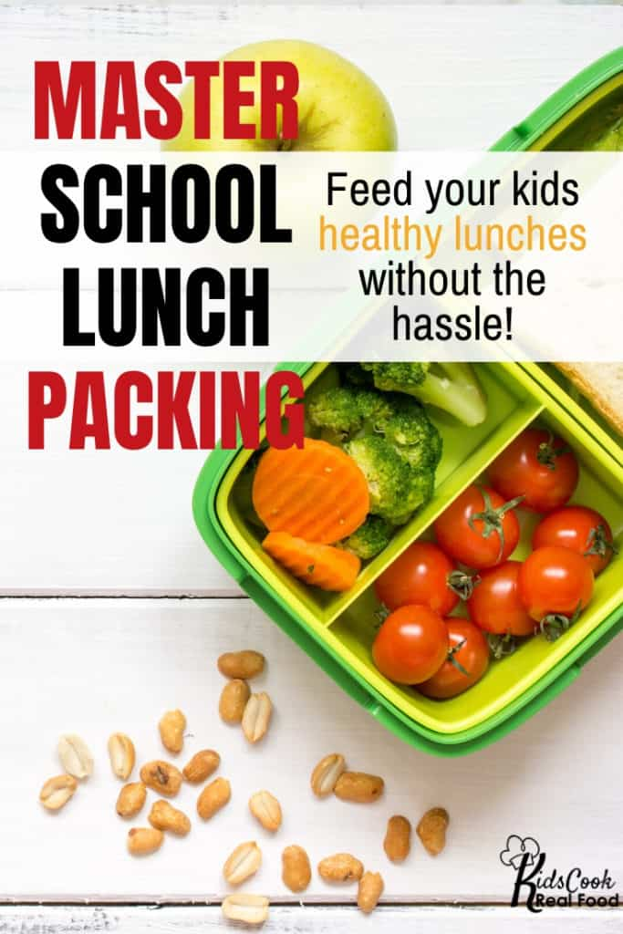 Master school lunch packing