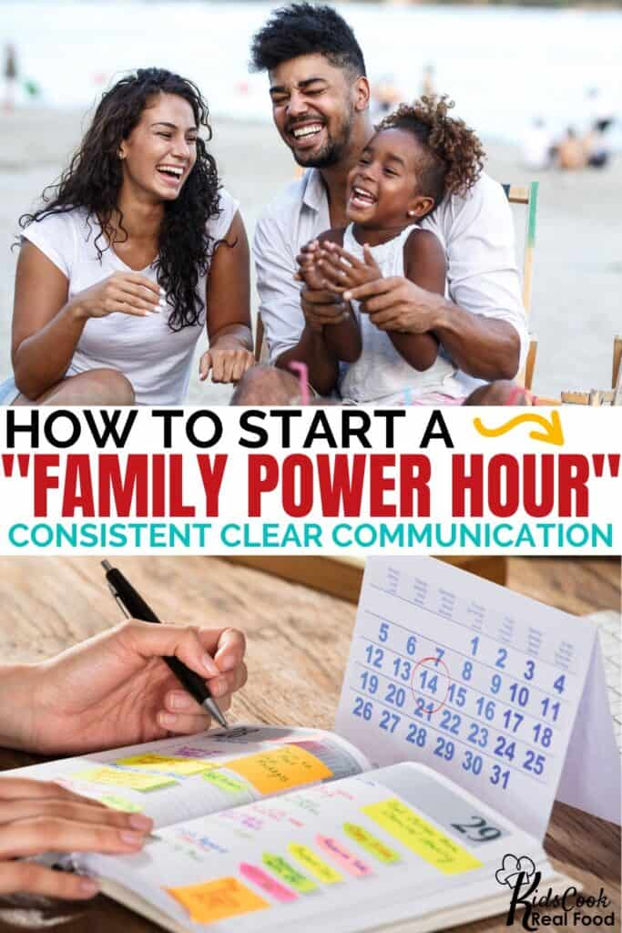 How to start a family power hour