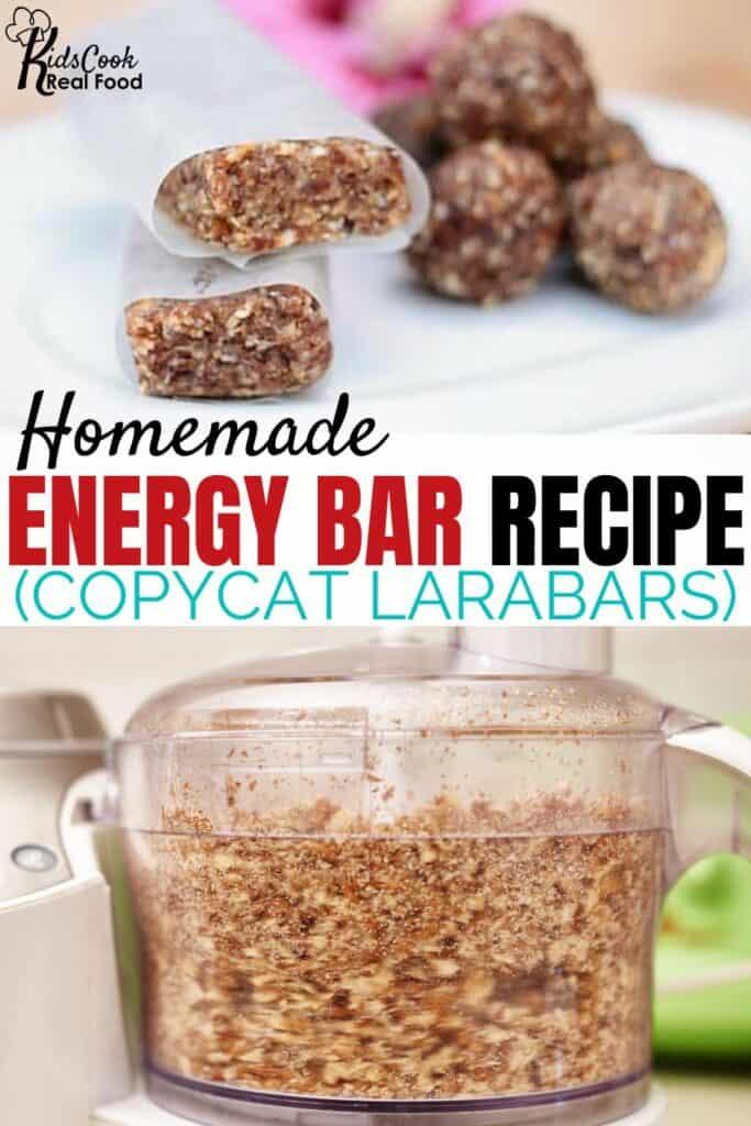 homemade energy bar recipe (copycat larabars)