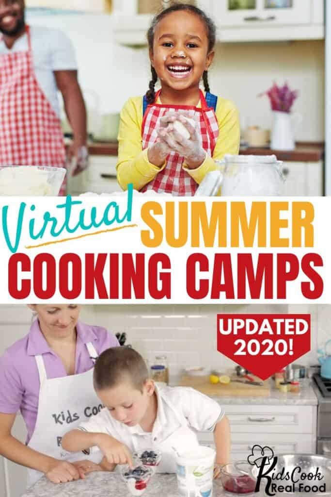 Virtual summer cooking camps