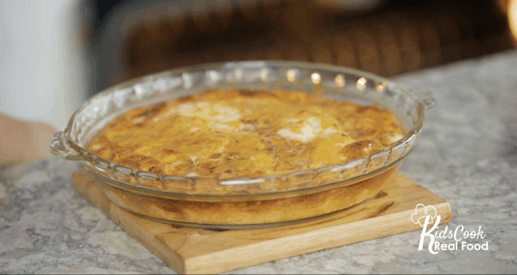 Mexican grain-free quiche